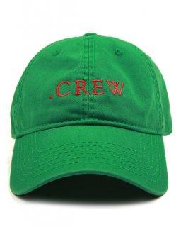 新作 日本未入荷  KNYEW ニュー CREW STRAPBACK 刺繍 コットン キャップ 6パネル グリーン 関税込 モデル セレブ愛用