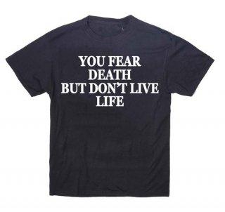 新作 日本未入荷 PINK UZI ピンクウージー FEAR DEARH Tシャツ パロディー フォト プリント 関税込