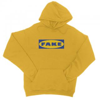 新作 日本未入荷 FORNEVER フォーネヴァー Fake イケア IKEA パーカー GOLD ロゴ パロディー プリント 関税込