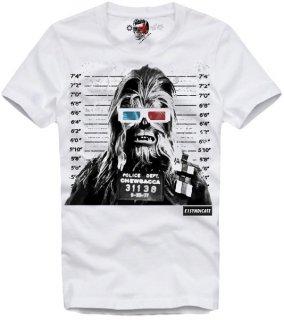 新作 日本未入荷 E1SYNDICATE イーワンシンジケート Tシャツ BUSTED CHEWI スターウォーズ チューバッカ パロディー フォト プリント 関税込
