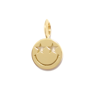 EYEME Star Eyes smile Pendant Head/K18YG