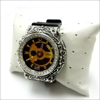 CASIO カシオ Baby-G ベビーG BA-110 カスタム 腕時計 クロムハーツ型 シルバー925 CZダイヤ 62石