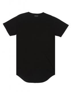 再販 日本未入荷  KNYEW ニュー BASIC E-LONG SCOOP TEE ロング丈 Tシャツ  ブラック 黒 関税込 モデル セレブ愛用