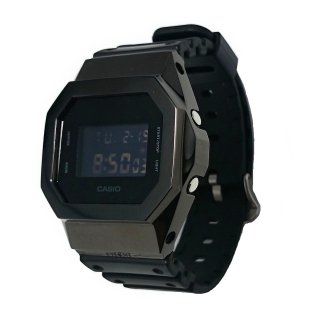 EYEME  G-SHOCK SILVER 925 BEZEL COVER DW-5600 BLACK OUT