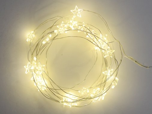 スターモチーフ デコレーションライト LED 【30球】3m