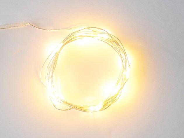 ジュエリーライト LED 【20球・電球色】2m