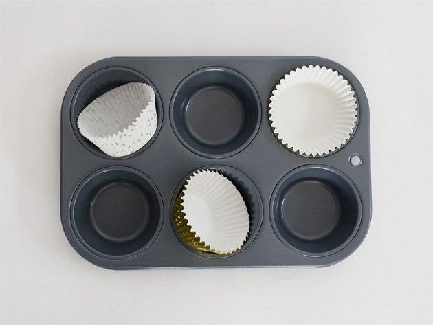 カップケーキ・マフィンパン 6穴(直径5cm)
