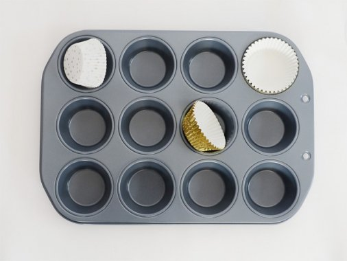 カップケーキ・マフィンパン 12穴(直径5cm)