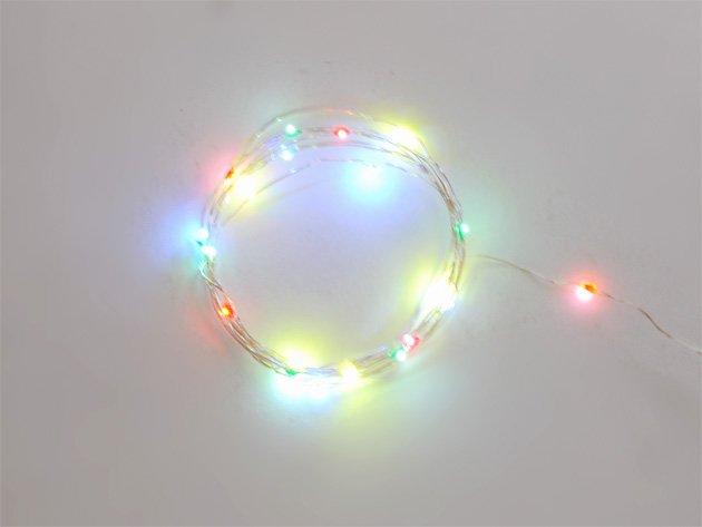 ジュエリーライト LED 【20球・カラー】2m