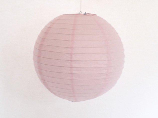 ペーパーランタン 30.5cm ベビーピンク