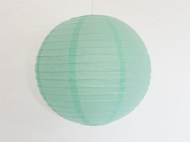 ペーパーランタン 30.5cm アクアグリーン