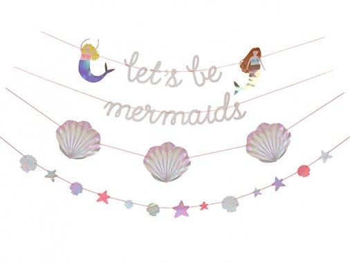 Let's be mermaids(マーメイド) ガーランドキット - Meri Meri