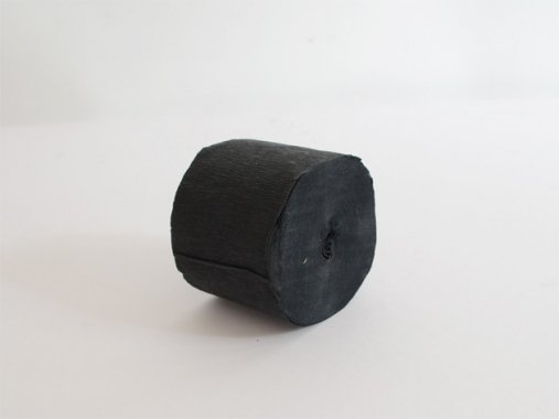 クレープストリーマー 20m ブラック