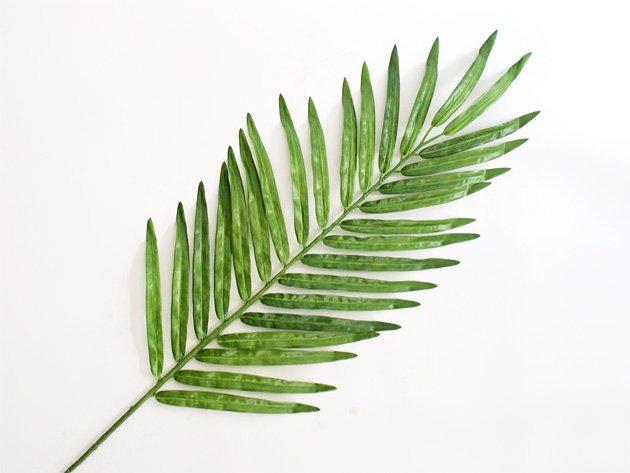 フェイクグリーン ヤシの葉(全長73cm)