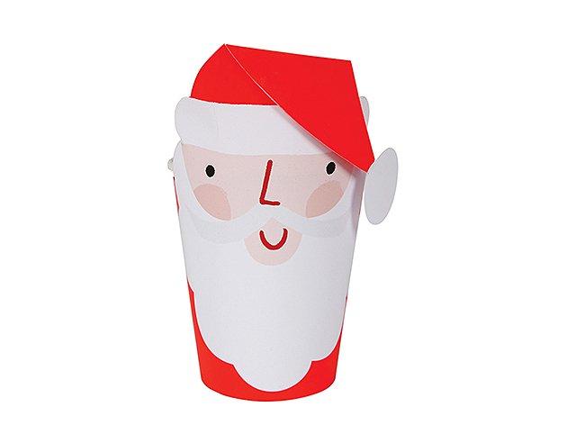 Christmas ペーパーカップ サンタ 8個入-MeriMeri