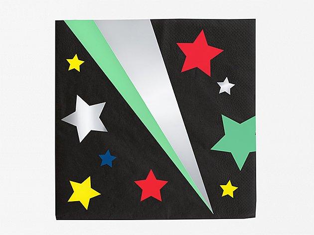 ペーパーナプキン Disco Star [16枚入] ...