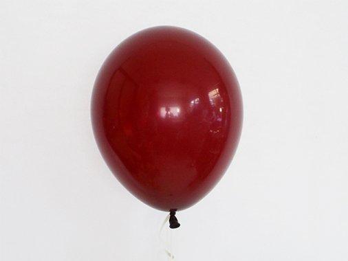 バルーン CLEAR バーガンディ 11'R(23〜28cm)5枚入-Qualatex