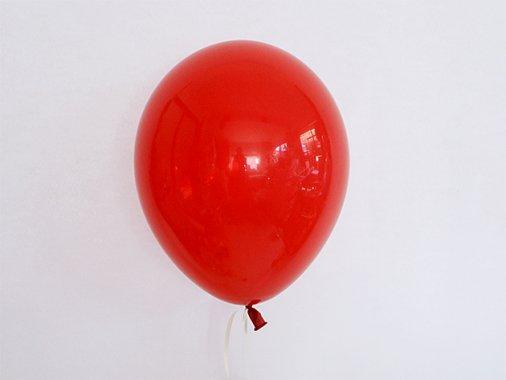バルーン CLEAR ルビーレッド 11'R(23〜28cm)5枚入-Qualatex