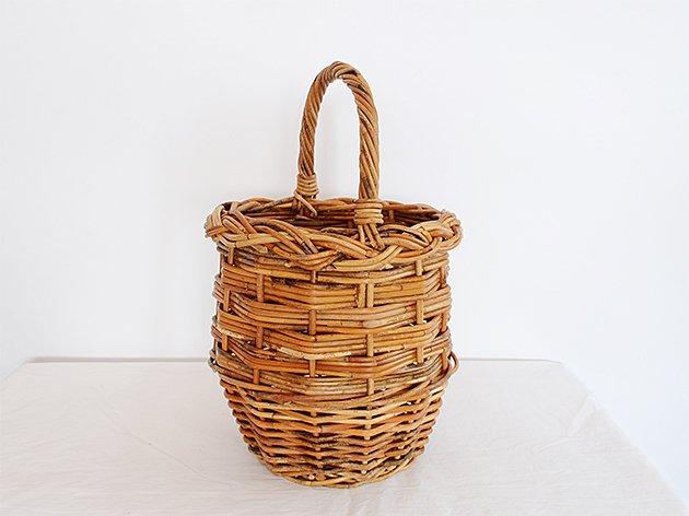アラログ素材  バスケット かごバッグ