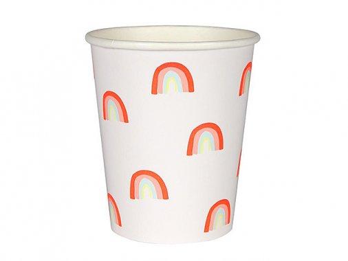 ペーパーカップ  RAINBOW  12個入 -MeriMeri