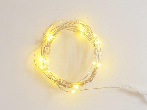 ジュエリーライト LED 【50球・電球色】5m・点灯モード・点滅モード有り