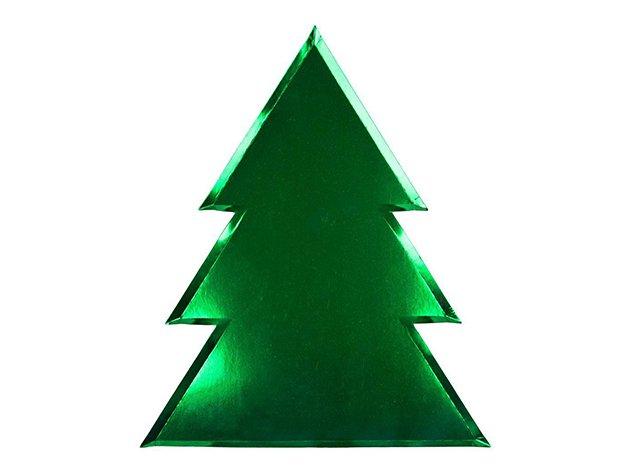 ペーパープレート クリスマスツリー [8枚入] -MeriMeri