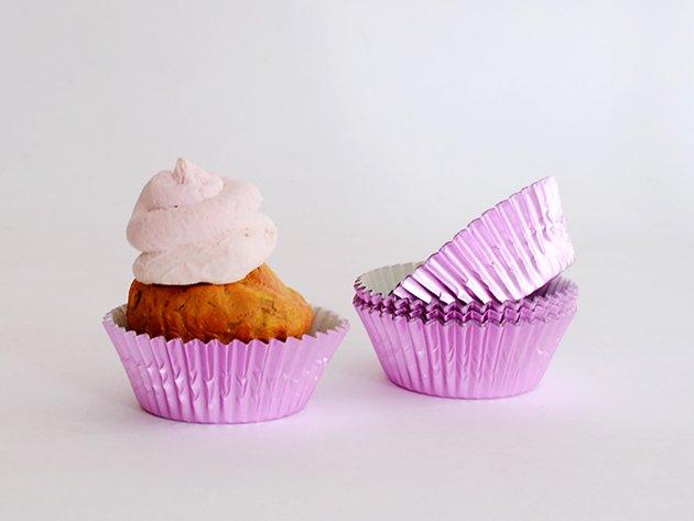 ライトピンク カップケーキケース 32枚入