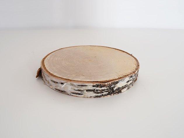 ナチュラルウッド(白樺)  ディスプレイ台 S(直径約12-13.5cm)