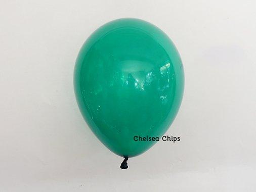 バルーン CLEARエメラルドグリーン11'R(23〜28cm)5枚入-Qualatex