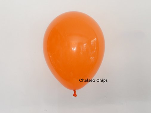 バルーン CLEAR マンダリンオレンジ 11'R(23〜28cm)5枚入-Qualatex