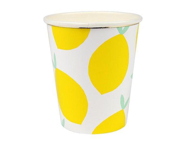 ペーパーカップ レモン 8個入 -MeriMeri