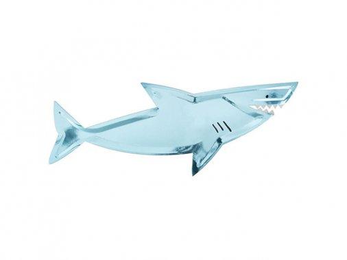ペーパープレート UNDER THE SEA シャーク 56.8cm  [4枚入] -MeriMeri