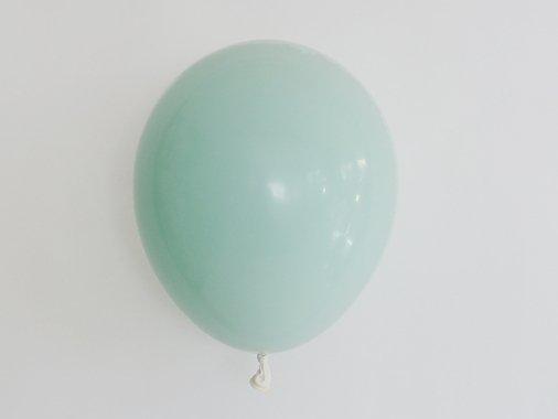 ダブルバルーン  ミルキーグリーン 11'R(23〜28cm)5set入-Qualatex