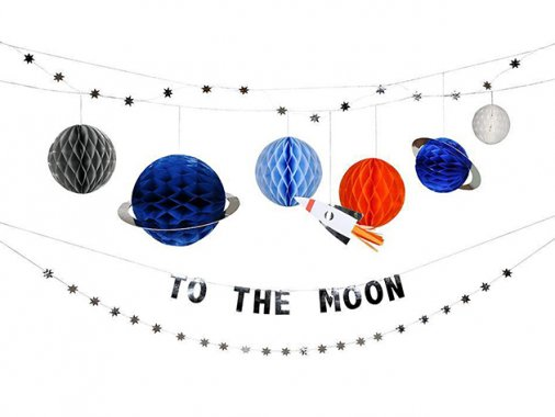 ガーランド To The Moon (宇宙) - MeriMeri