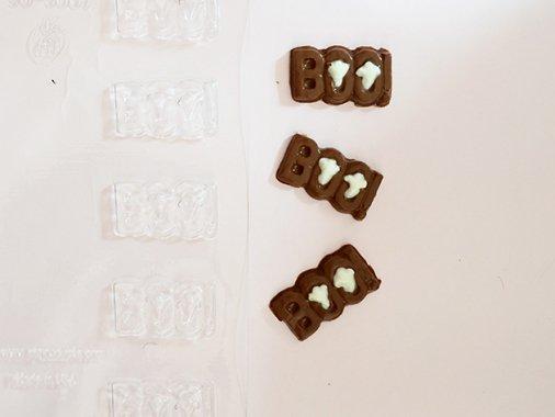 HALLOWEEN チョコレート型 ゴーストBOO! 10型- CK