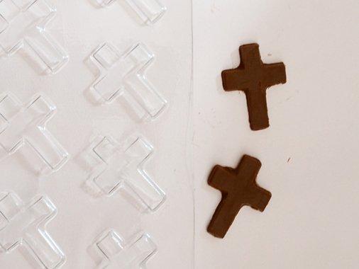 HALLOWEEN チョコレート型 クロス(十字架)11型- CK