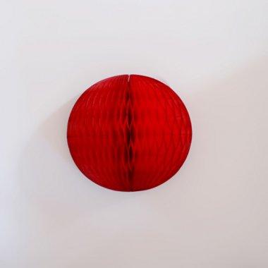 12.5cm ハニカムボール  レッド