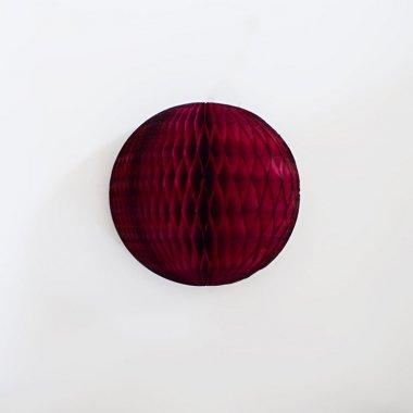 12.5cm ハニカムボール  バーガンディ
