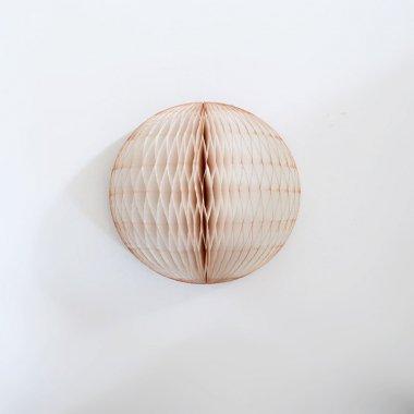 12.5cm ハニカムボール  ヴィンテージバニラ
