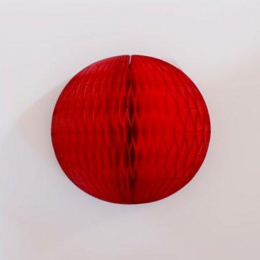 20cm ハニカムボール  レッド