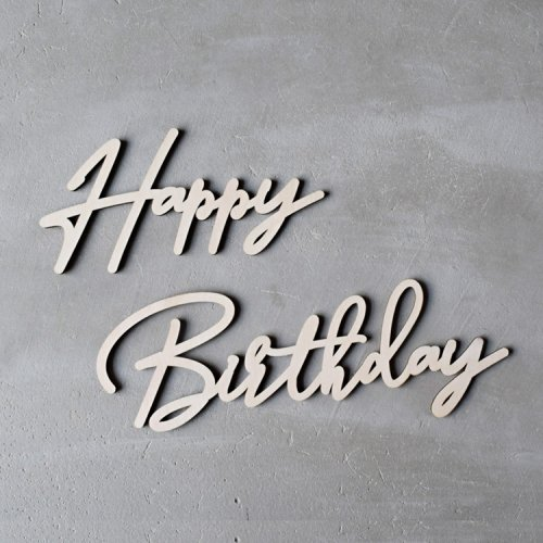 <img class='new_mark_img1' src='https://img.shop-pro.jp/img/new/icons14.gif' style='border:none;display:inline;margin:0px;padding:0px;width:auto;' />スクリプト HAPPY BIRTHDAY ウッド デコレーション