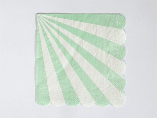 ペーパーナプキン Toot Sweet グリーン-MeriMeri