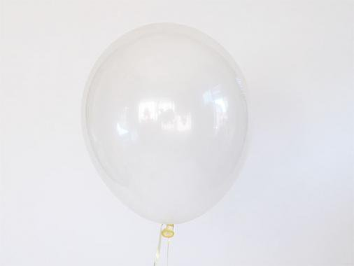 バルーン ダイヤモンドクリア 11'R(23〜28cm)5枚入-Qualatex