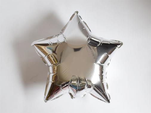 フォイルバルーン シルバースター 45cm-Anagram