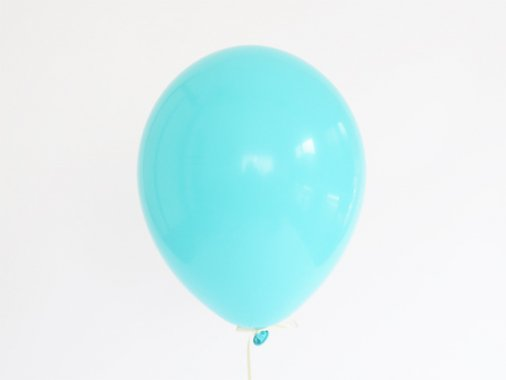 バルーン カリビアンブルー 11'R(23〜28cm)5枚入-Qualatex