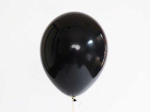 バルーン ブラック11'R(23〜28cm)5枚入-Qualatex