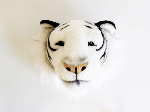ウォールデコレーション White Tiger(ホワイトタイガー)- BiBiB & Co