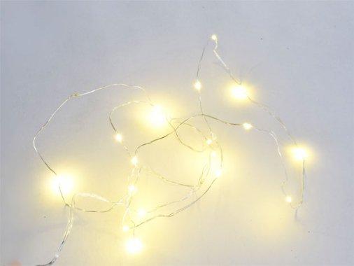 点滅型ジュエリーライト LED 【20球】2m