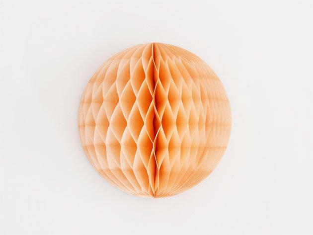 20cm ハニカムボール  ピーチ