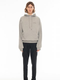 DRESSEDUNDRESSED EMBROIDERY HOODIE(GRAY)